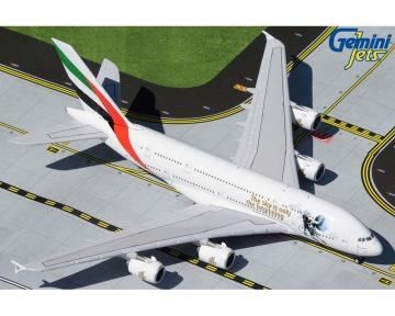 "Emirates A380 /""Tolerance/"" A6-EVB Gemini Jets GJUAE1959 Scale 1:400 IN STOCK"
