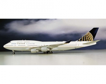 JFOX JF7471001 1//200 UNITED AIRLINES B747-122 N4716U WITH STAND LIMITED EDITION