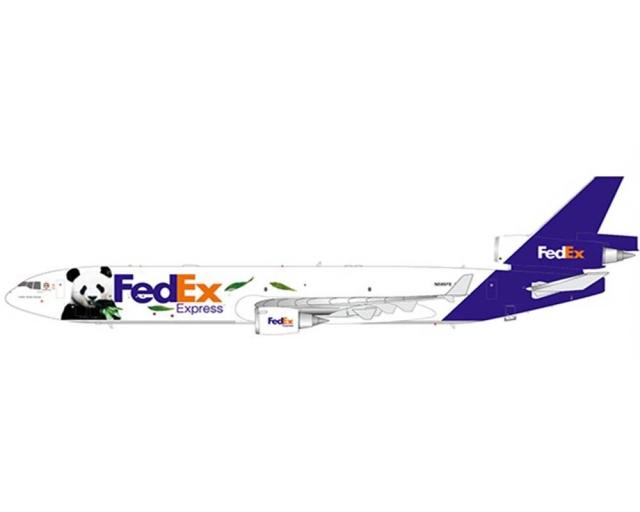 "FedEx McDonnell Douglas MD-11F N585FE ""Panda Express #3"" (1:200)"
