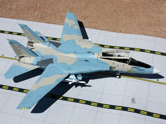 Gemini Aces Imperial of Iran Air Force F 14 Tomcat 172 Scale