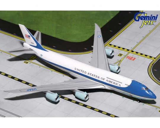Geminijets Usaf Air Force One Boeing 747 8 38000 1 400 Scale