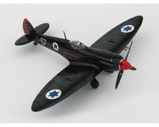 Spitfire Mk IX IDF/AF 105th Sqn, 205/57, Ezer Weisman 1:48 Scale Diecast