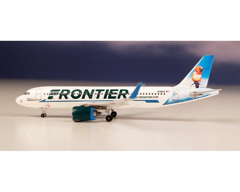 1:400 AeroClassics A320neo Frontier N318FR