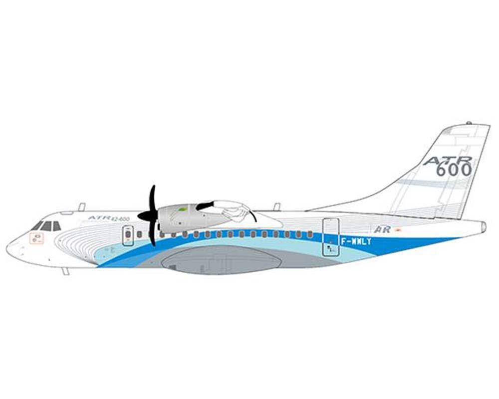 ATR ATR42-600 House Livery F-WWLY w/Stand (1:200)