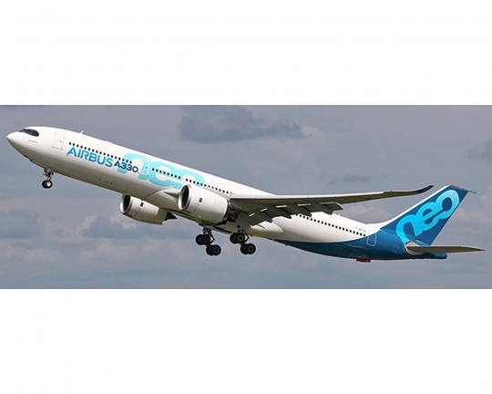 JC WINGS AIRBUS A330-900neo HOUSE LIVERY W/ANTENNA F-WTTN 1:400 Scale  LH4AIR114