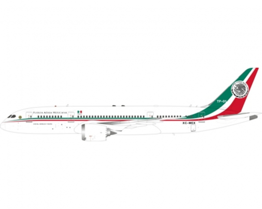 Mexican Air Force One 787 8 Dreamliner TP 01 XC MEX Stand IF7870716 1:200